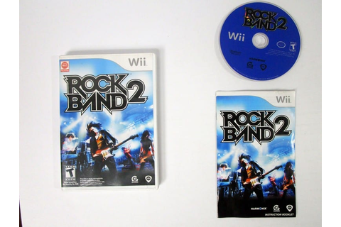 Rock Band 2 (game only) game for Wii (Complete) | The Game Guy