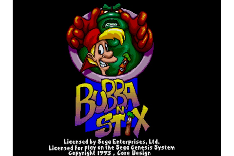 Bubba'n'Stix - A Strategy Adventure (USA) ROM Download