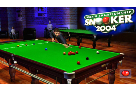 World Championship Snooker 2004 ... (PS2) - YouTube