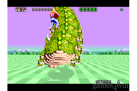 Space Harrier. Download and Play Space Harrier Game ...
