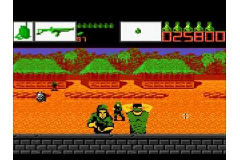 Alien Brigade (atari 7800) - gameplay - YouTube