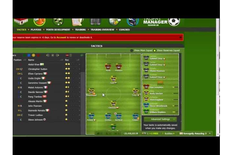 Download World Football Manager Game free - grooveletitbit