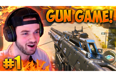 """EPIC COMEBACK...!?"" - Black Ops 3 GUN GAME! #1 - LIVE w ..."