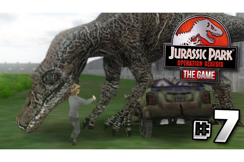 """PEOPLE... ARE... DYING!!!"" - Jurassic Park Operation ..."