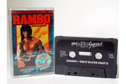 Commodore Info Page - Cassette: Rambo - First Blood Part ...