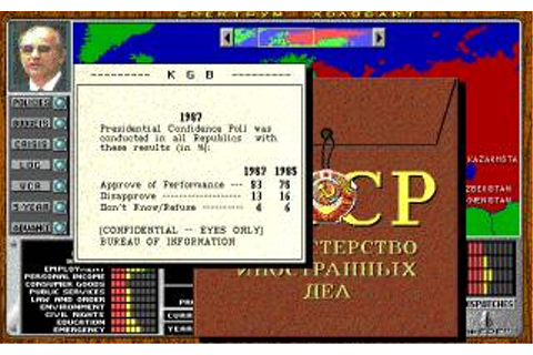 Crisis in The Kremlin Download (1991 Simulation Game)
