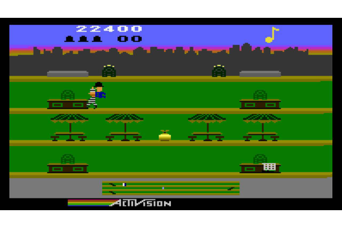 Keystone Kapers (Atari 5200) - Level 10, 35,700 points ...