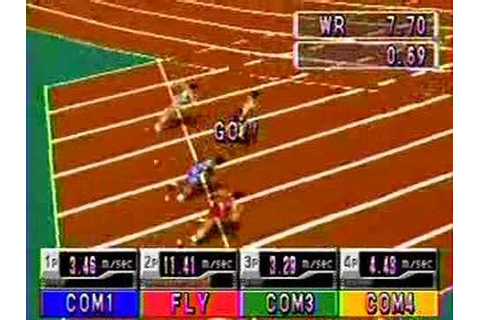 International Track & Field PLAYSTATION! - YouTube