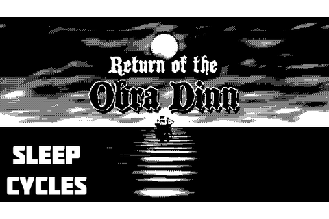 Return of the Obra Dinn (PC), A New Game By Lucas Pope ...