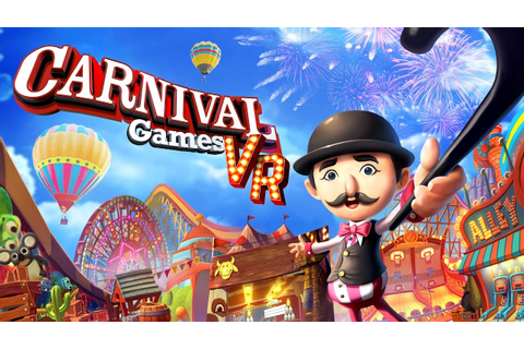 Carnival Games VR - Every Mini-Game Gameplay (Direct-Feed ...