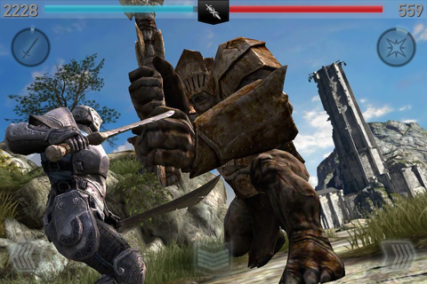 Hands-on with Infinity Blade II's super social ClashMob ...