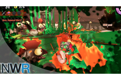 Splatoon 2 - Salmon Run is Hard - YouTube