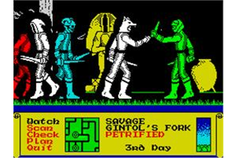 Dark Sceptre - Sinclair ZX Spectrum - Games Database