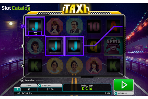 Taxi (Leander Games) Slot Review, Bonus Codes & where to ...