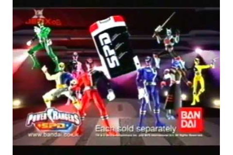 Power Rangers - SPD - Toy TV Commercial - TV Spot - TV Ad ...