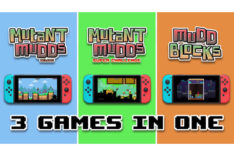 Mutant Mudds Collection - Nintendo Switch - YouTube