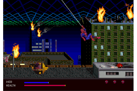 Play Amazing Spider-Man, The - Web of Fire Sega 32X online ...