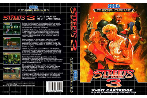 Streets of Rage 3 | Top 80's Games