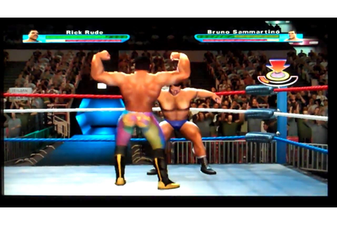 Showdown: Legends of Wrestling Playstation 2 Gameplay ...