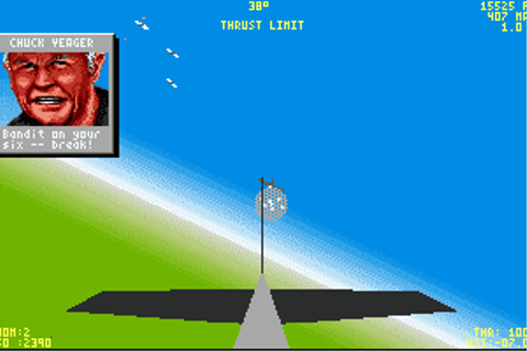 Play Chuck Yeager's Air Combat Online - My Abandonware