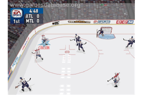 NHL 2000 - Sony Playstation - Games Database