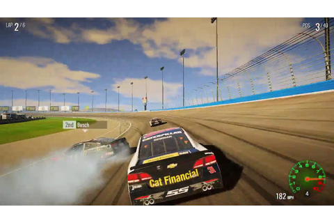 NASCAR Heat 2 Gameplay (PC game) - YouTube