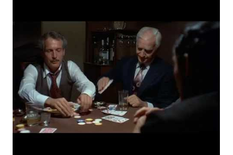 The Sting - Poker Game - YouTube