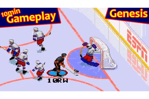 ESPN National Hockey Night ... (Sega Genesis) - YouTube