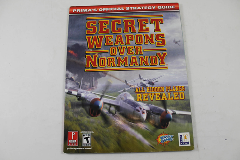 Secret Weapons Over Normandy Official Strategy Guide ...