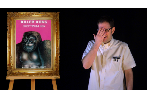 AVGN Bad Game Cover Art #21 – Killer Kong (ZX Spectrum ...