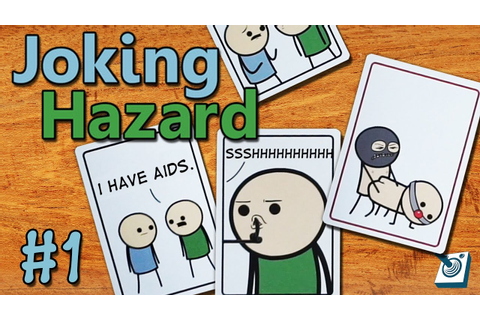 Most Offensive Party Game! || Joking Hazard || #1 (Cyanide ...