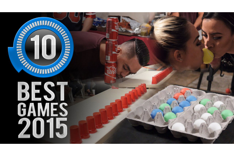Minute to Win It: The 10 Best Games of 2015 - YouTube