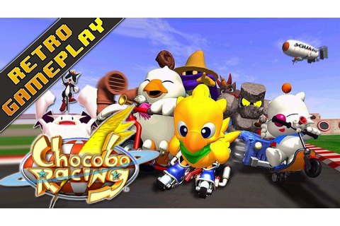 Retro Gameplay comentado | Chocobo Racing, un digno clon ...
