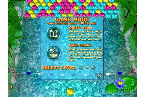 Aquabble Avalanche. Download and Play Aquabble Avalanche ...
