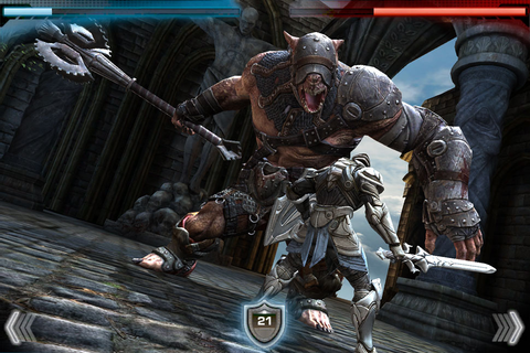 Infinity Blade Review (iOS) - Paste