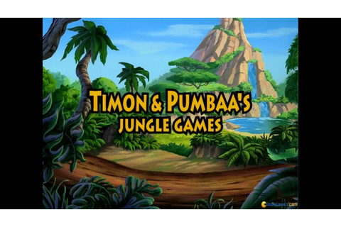 Timon & Pumbaa's Jungle Games gameplay (PC Game, 1995 ...