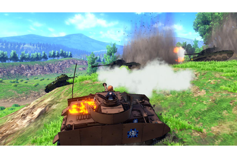 'Girls Und Panzer Dream Tank Match' Will Get An English ...