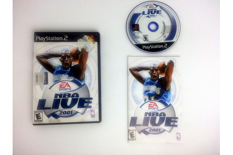 NBA Live 2001 game for Playstation 2 (Complete) | The Game Guy