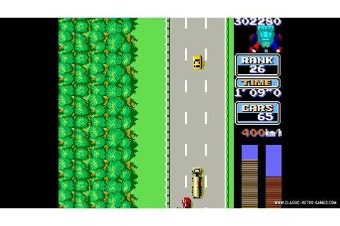 Download RoadFighter & Play Free | Classic Retro Games