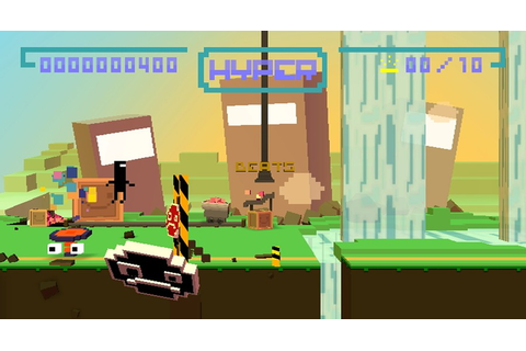 BIT.TRIP RUNNER (WiiWare) Screenshots