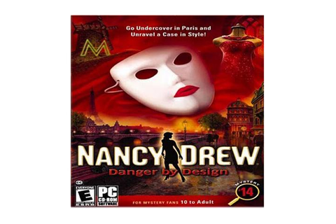 Nancy Drew Danger By Design Jewel Case PC Game - Newegg.com