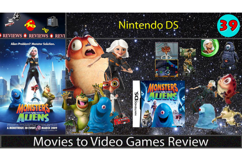Movies to Video Games Review - Monsters vs. Aliens ...