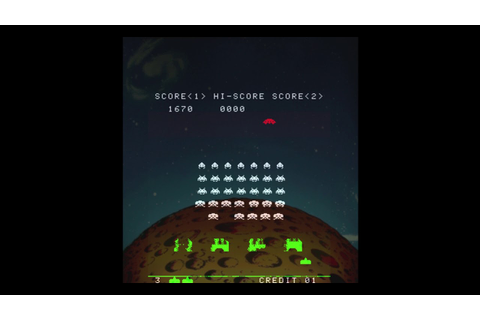 Space Invaders - The Original Arcade Game - YouTube