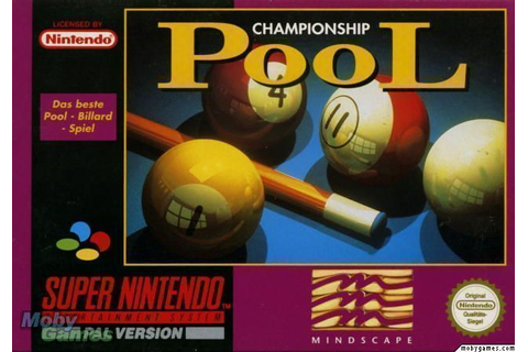 Championship Pool ROM - Super Nintendo (SNES) | Emulator.Games