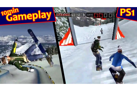 Cool Boarders 2001 ... (PS1) - YouTube
