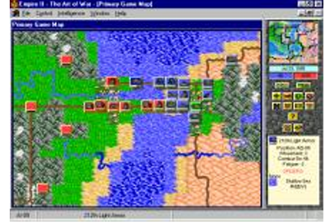 Empire II: The Art of War Download (1996 Strategy Game)