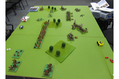 Andy's Wargaming Blog: First Game of Dux Bellorum