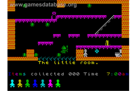 Jet Set Willy - Sinclair ZX Spectrum - Games Database