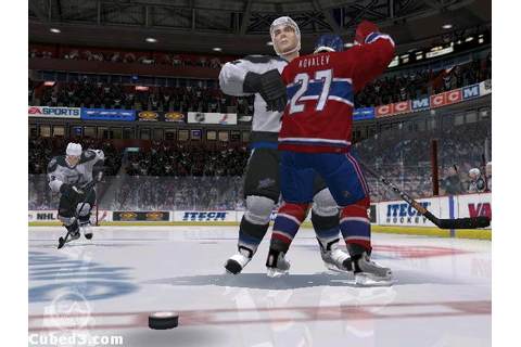 NHL 06 (GameCube) Review - Page 1 - Cubed3