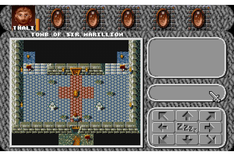 Download Amberstar rpg for DOS (1992) - Abandonware DOS